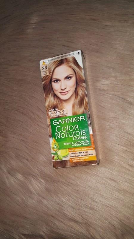 Garnier 8N naturalny jasny blond farba