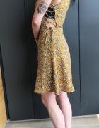 Sukienka w kwiaty h&m na lato boho...