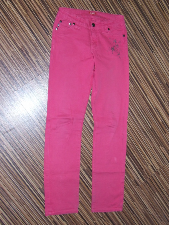 rozowe spodnie D Xel rozmiar 134