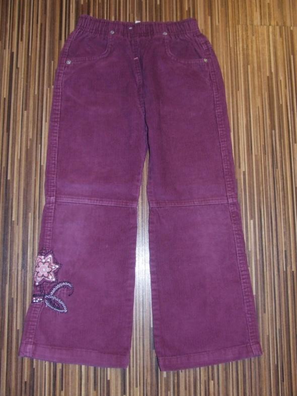spodnie sztruks M Girl rozmiar 122