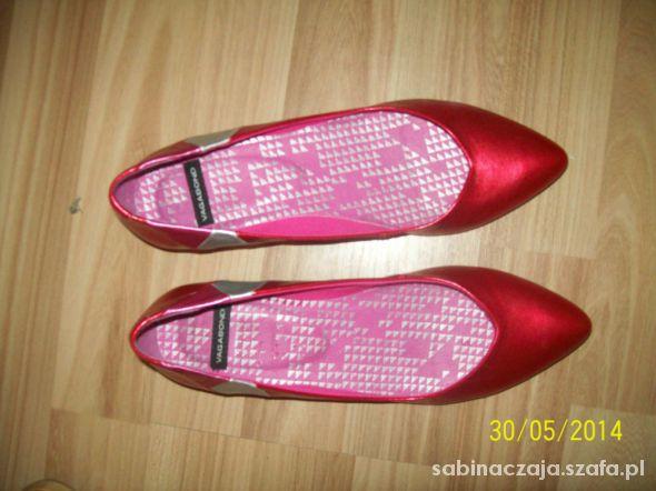 WYPRZ super czerwone buciki vagabond 37