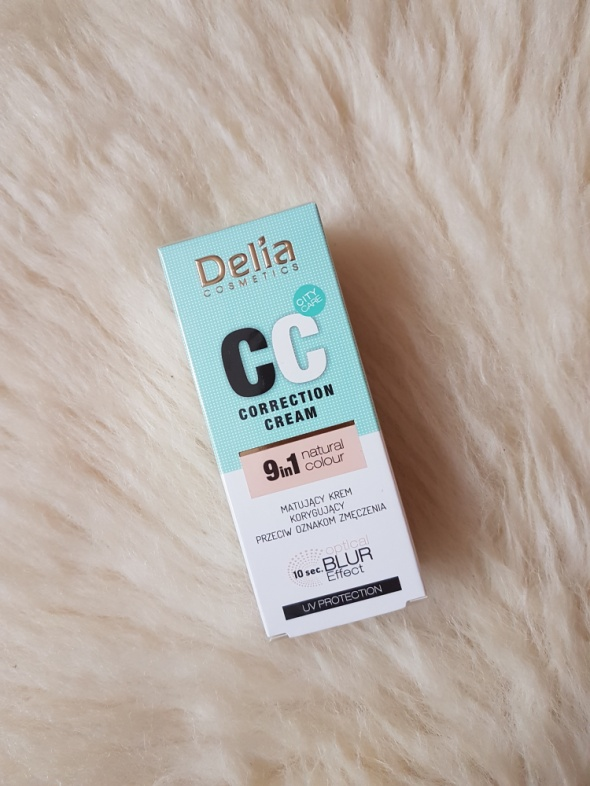 Delia CC 9in1 Matujący Krem Korygujący