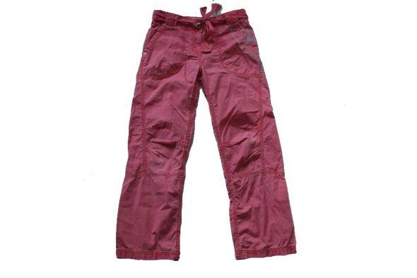 Spodnie NEXT 140 NOWE jasno czerwone