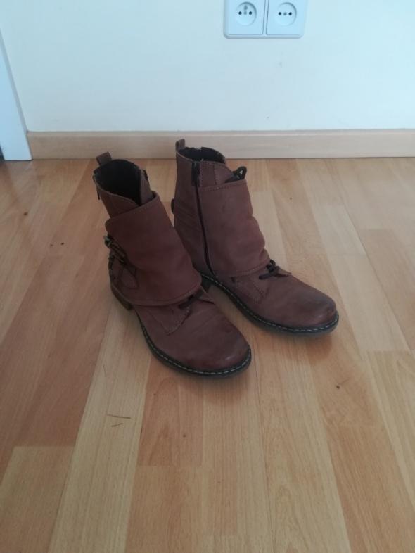 Lasocki Skórzane buty w idealnym stanie