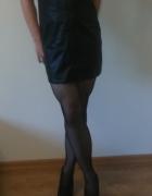 Skórzana sukienka...