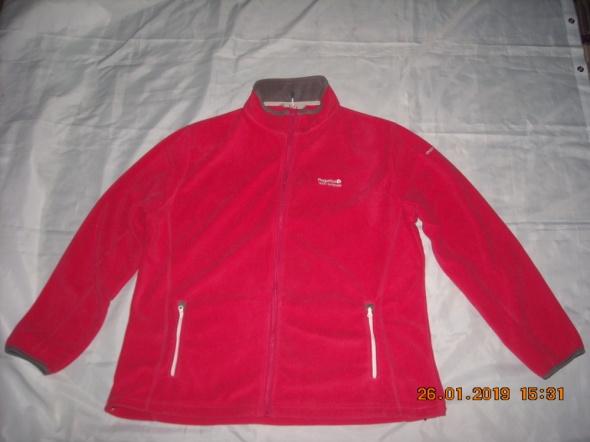 Bluza REGATTA bluza na zamek bluza malinowa bluza rozpinana 44 46 48
