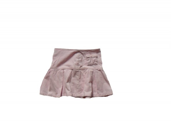 Spódnica cienki sztruks różowa 140