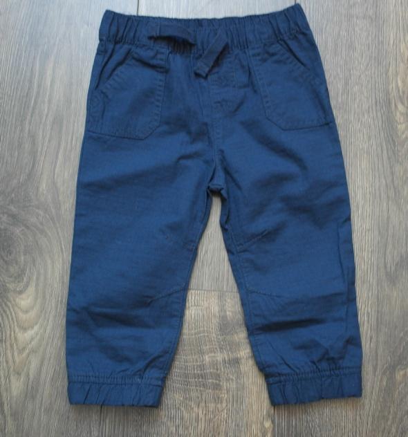 Nowe spodnie granatowe 80 86 plus gratis