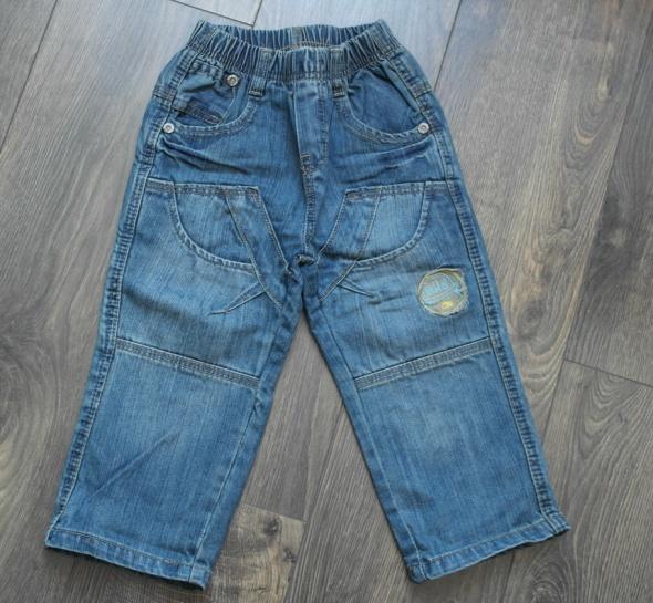 Dzinsowe spodnie 90 98