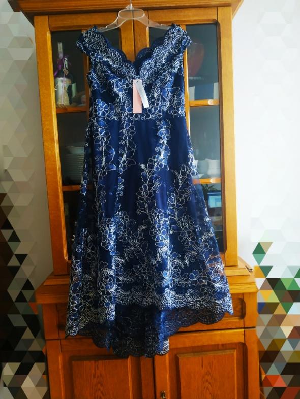 Piękna suknia City Goddness r40 ASOS CH Chi London Little Miste...