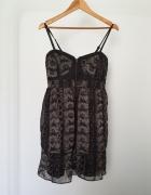 wężowa sukienka New Yorker...