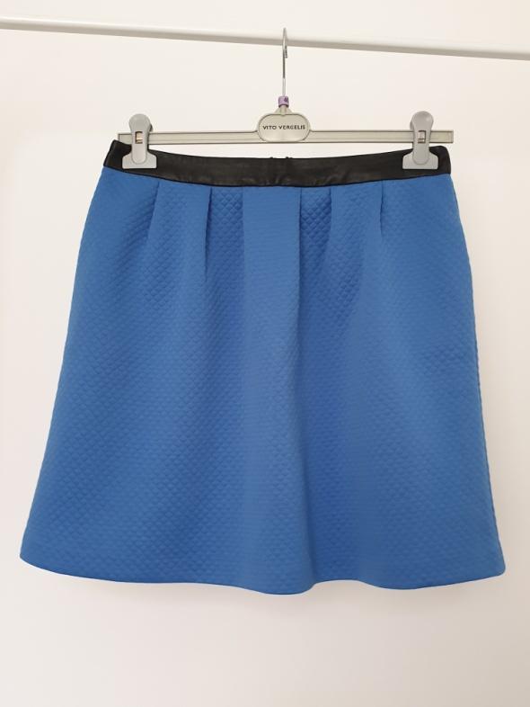 niebieska spódnica Reserved...