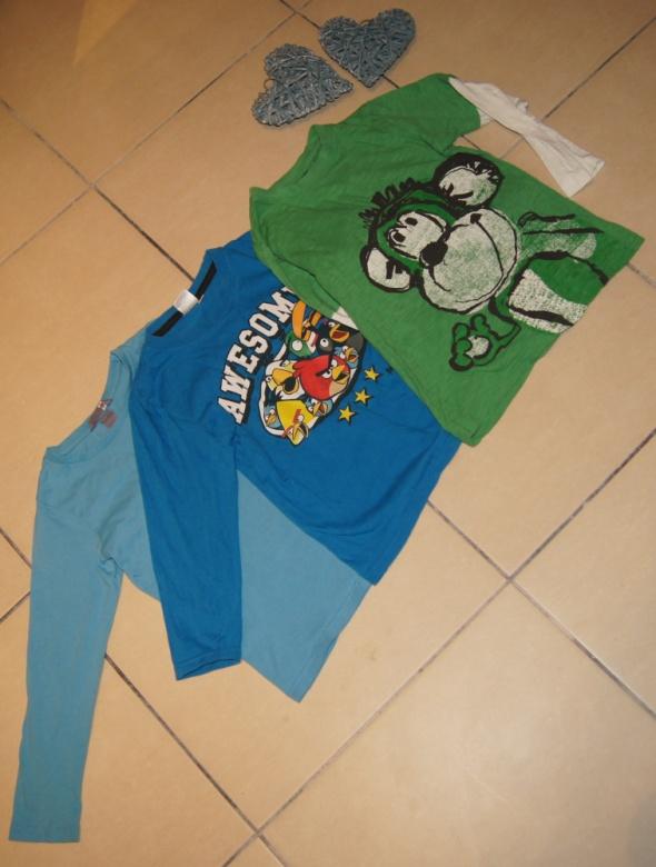 Zestaw chłopiec bluzka Angry Birds rozm 110 do 116