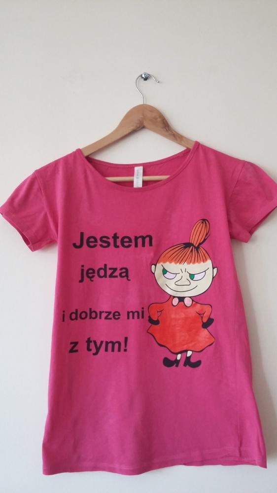 Różowy t shirt Mała Mi