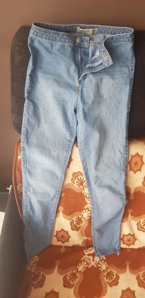 Świetne Jeansowe Spodnie 36...