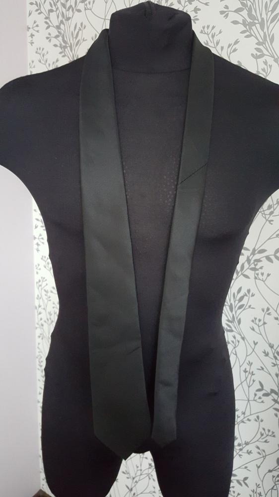 Czarny krawat George