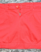 Spódniczka spódnica mini czerwona...