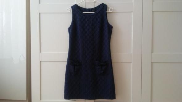 Granatowa sukienka MOHITO 38