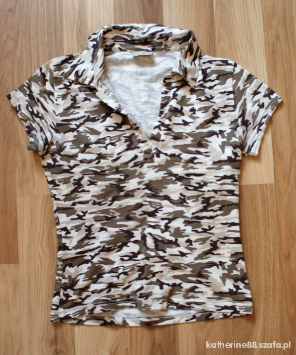 military style top moro 36 38 s m