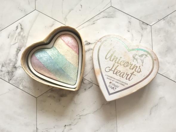Rozświetlacz Unicorns Heart Makeup Revolution I heart Revolution