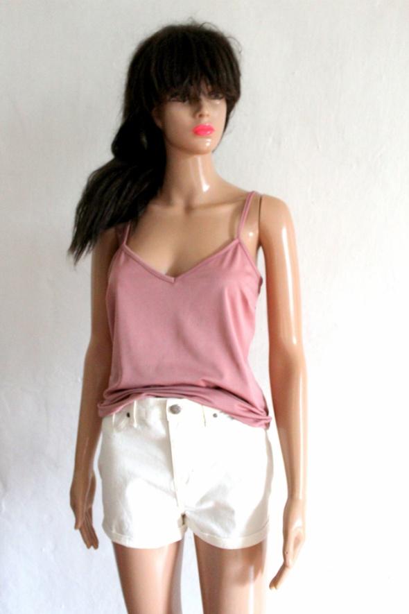Bluzeczka na ramiączkach pudrowy róż r L...