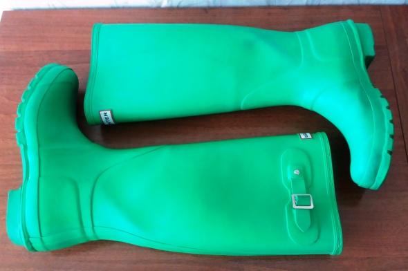 ORYGINALNE zielone kalosze HUNTER 40