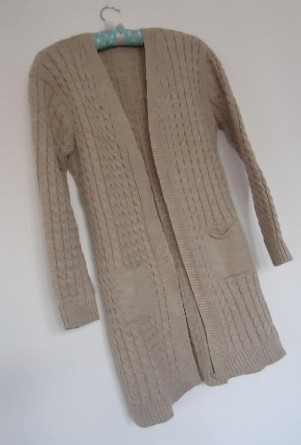 sweter kardigan warkocze 36