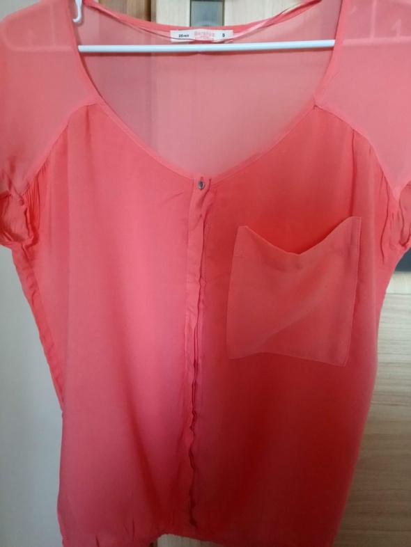 pomarańczowa bluzka...