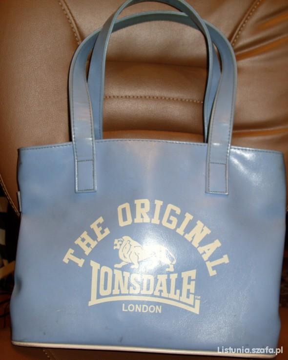Torebka Lonsdale London błękit OBNIŻKA ceny...
