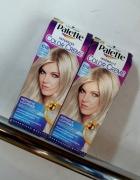 farba do włosów rozjaśniacz Palette mroźny srebrny blond 2 szt ...