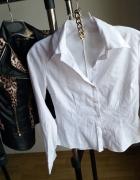koszula biała r S H&M zara bershka...
