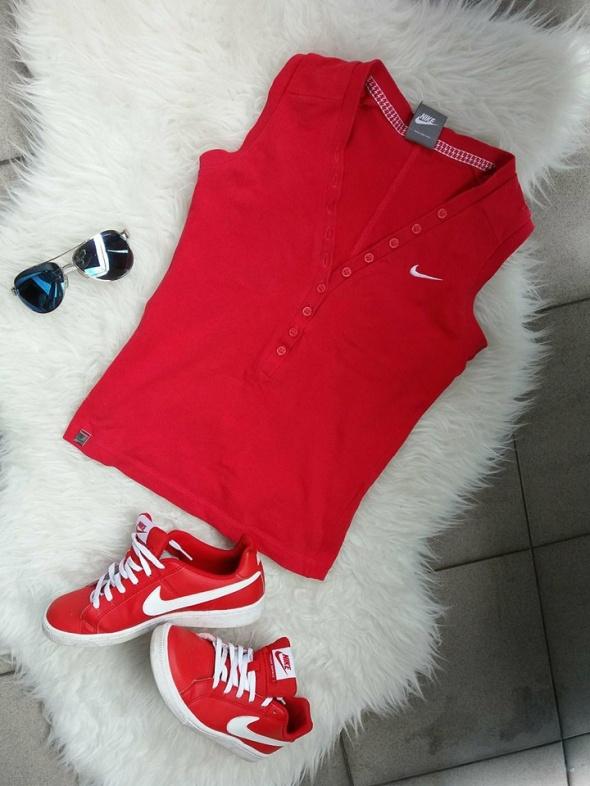 bluzka top Nike r S czerowna Nike...