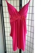 sukienka mini midi różowa cekiny Tally Weijl r XS S...