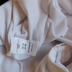 New Look biała bluzka koronka top 38 40