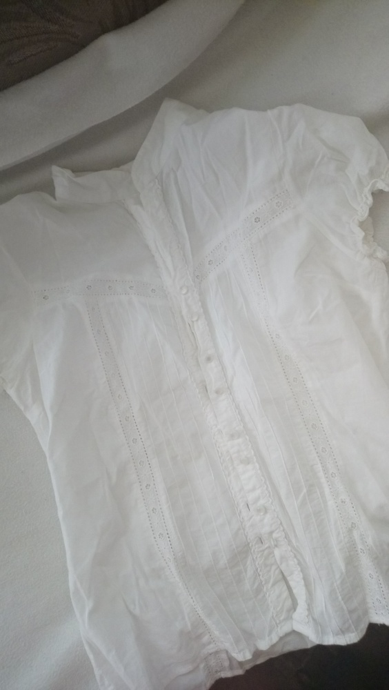 koszula z koronką