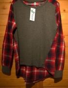 koszula krata bluzka...
