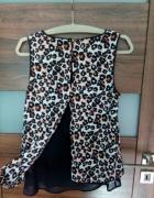 Bluzka panterka H&M rozmiar M...