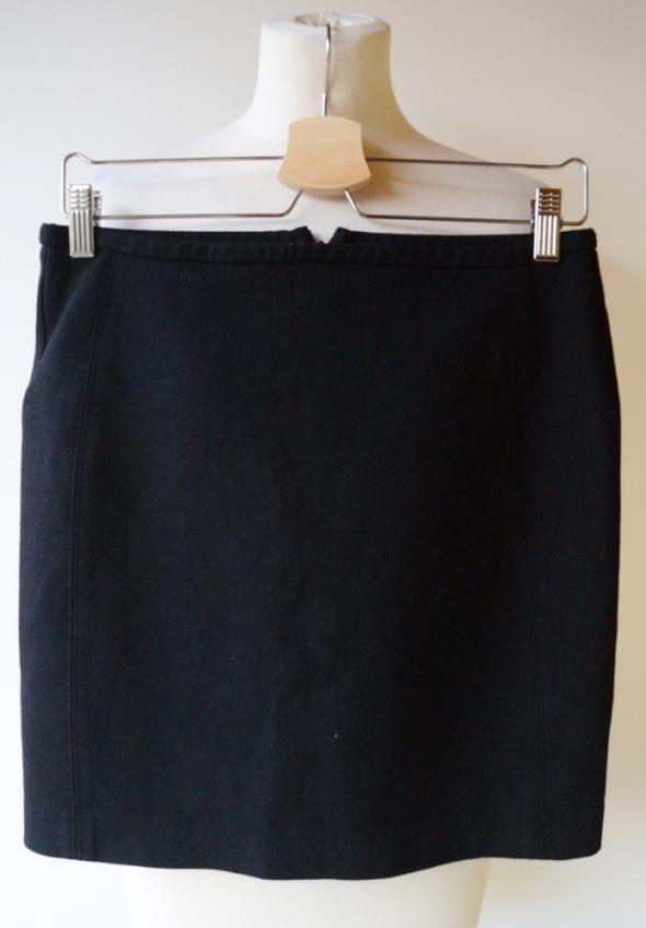 Spódnice Spódniczka Czarna Zara M 38 Ołówkowa Pracy