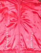 Czerwona satynowa kurtka S