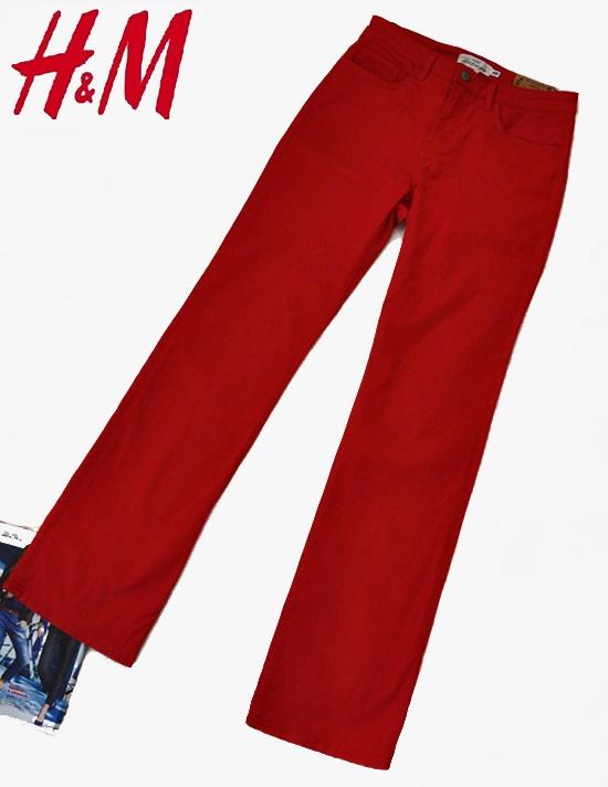 Tylko dziś darmowa dostawa InPost Nowe jeansowe spodnie H&M dla wysokiej