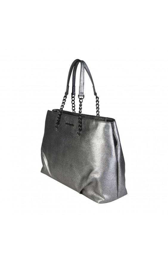 Torba Shopper Bag Blu Byblos ARGENTO