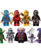Ninja Ninjago Mini Figurki Komplet 9 Sztuk 2015...