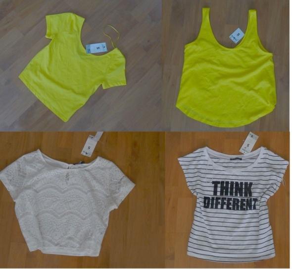 wyprzedaż 7 nowych bluzeczek Terranowa S...