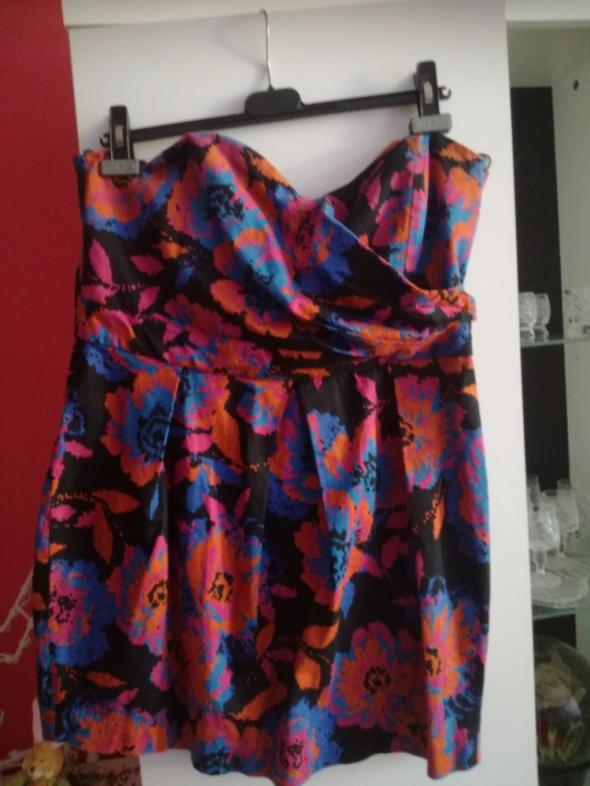 New look sukienka wiosna lato na co dzień bombka na wieczór