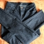 Ciemnie jeansowe spodnie r 34