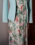Sukienka Stradivarius z żakietem Reserved