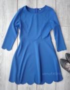 shein romwe sukienka kobaltowa niebieska L 40 hit...