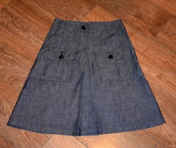 Spódnica jeansowa XS S...