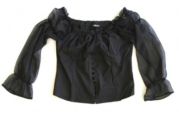 bluzka gorset Gothic czarna 42
