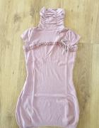 Sukienko tunika z krotkim rekawem...